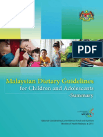 MDG Children and Adolescents Summary