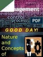 Unit 1 - Nature of Management