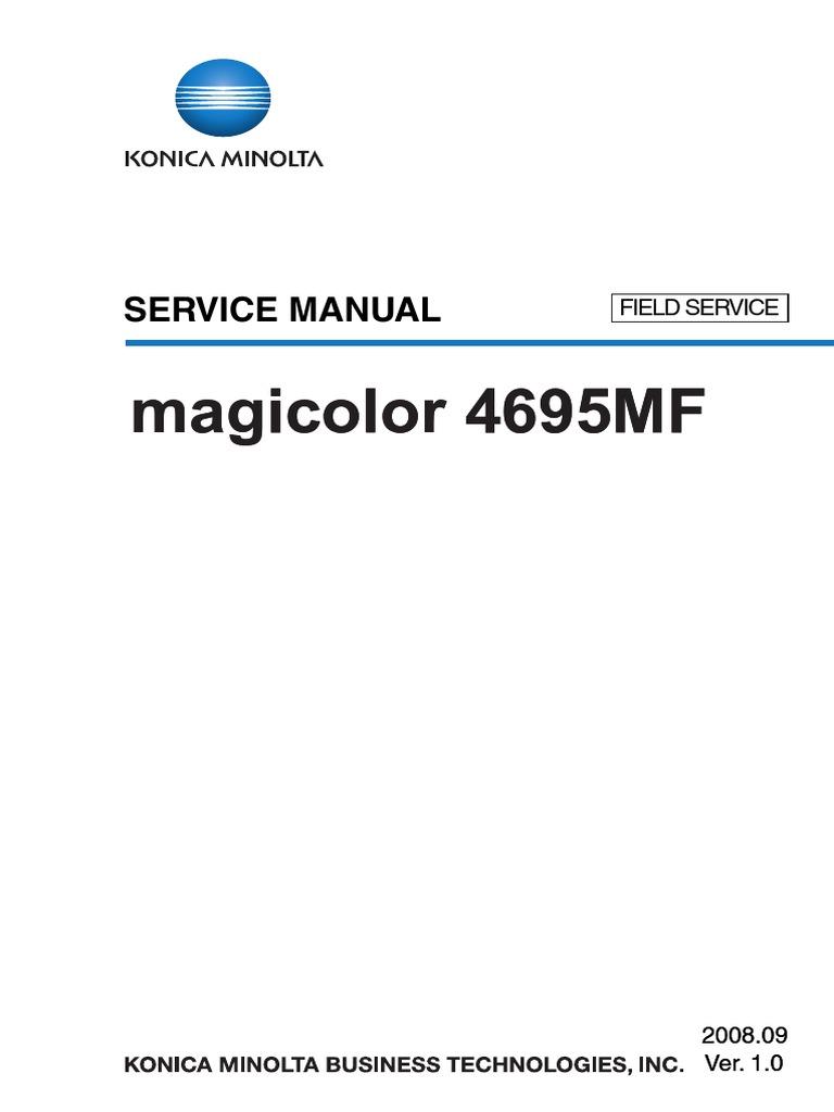 Konica minolta magicolor 4695mf field service manual ac power konica minolta magicolor 4695mf field service manual ac power plugs and sockets electrical connector fandeluxe Images