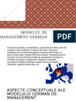 Modelul de Management German