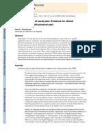 Eisenberger (2012), 'The neural basis of social pain'.pdf