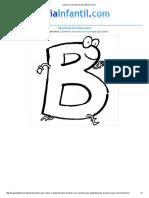 Imprimir Letra B