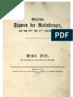 Figura Cabalistica - Rosenkreuzer 16-17Jhd.