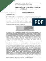 MANUAL DE ENTRENAMIENTO EN CONCENTRACIÓN DE MINERALES - I - Conceptos Básicos.pdf