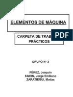 Carpeta de Elementos de Maquina (Levas) 2016