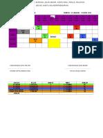 jadual kelas PIRABA