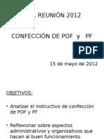 Reunión POF Y PF