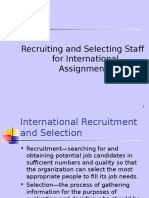 Lecture 8 Recruitment Selection