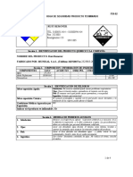 MSDS Rust Remover