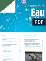 Observatoire de l'eau du Morbihan 2013-2015