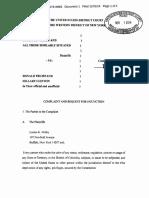 Election Postponement Lawsuit OCR