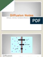diffusion notes ppt