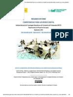 Informe Competencias Para Un Mundo Digital