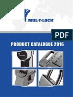 Mul-T-Lock Product Catalog 2016
