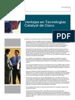 Ventajas en Tecnologias Catalyst de Cisco