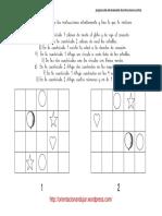 Programa de Entrenamiento de Instrucciones Escritas Con Dos Cuadriculas Fichas 10