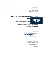 Colstrip 3&4 Bottom Ash Pond CCR Inflow Design Flood Control System Plan October 2016 34BAP