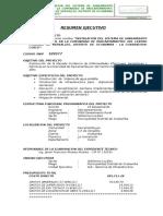 Resumen Ejecutivo - Ficha Tecnica - Sbi Paucartambuyoc