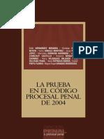 031-La Prueba en El Código Procesal Penal de 2004