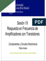 OCW-CCE S19 Respuesta en Frecuencia de Amplificadores Con Transistores