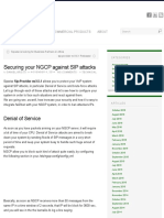 Securing Your NGCP Against SIP Attacks