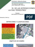 DIAPOSITIVAS INTERSECCIONES VIALES
