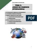 t15 Operaciones de Comercio Internacional