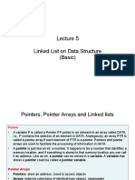 Lecture 5 Linked List Basic