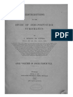 Contributions to the study of Indo-Portuguese numismatics / J. Gerson da Cunha