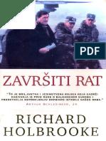 Zavrsiti Rat - Richard Holbrooke