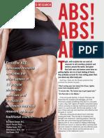 ACE AbsStudy - Estudio Sobre El Desarrollo de Los Abdominales