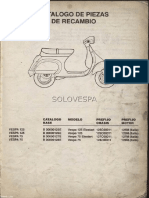 Manual Vespa PK50 FL2