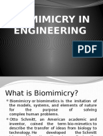 Biomimicry in Engineering