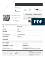 Contancia RFC ROCJ8310125b5