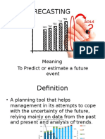 forecasting ppt.pptx