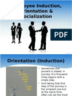 Induction & Orientation