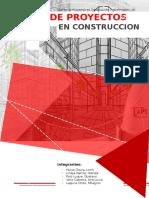 Acta de Constitución de un proyecto de pistas y veredas