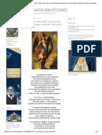 Oraciones de Los Santos Para Peticiones_ Oracion Al Arcangel San Miguel Contra Magias, Envidias, Maldad, Enemigos