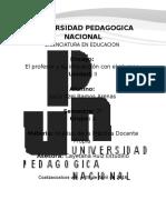 UNIDAD II. EL PROFESOR Y SU INTERACCION CON EL ALUMNO..docx