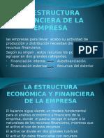 La Estructura Financiera de La Empresa