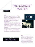 The Exocist Poster Analysis