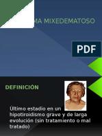 Coma Mixedematoso Expo