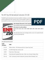 ENR_The 2015 Top 250 International Contractors 101-200
