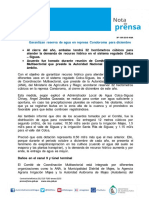 Nota de Prensa Nº 184-2016