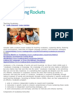 rdg 350 - teaching vocabulary   reading rockets