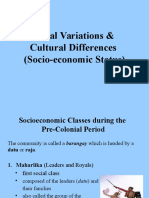 Lecture (Social Differences)