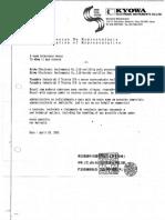 Carta Exclusividade Panambra