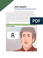 Cómo Enseñar Español