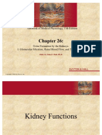 Guyton Hall Physio Chapter 26 Urine Formation by the Kidneys