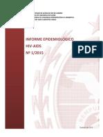 Informe Epidemiologico HIV-AIDS 2015